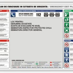 plan evacuare psi