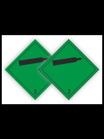 Eticheta ADR autocolanta pericol transport gaze neinflamabile toxice