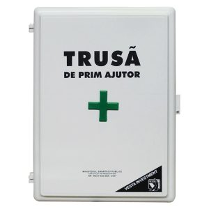 PACHET FULL - TRUSA SANITARA FIXA + STINGATOR P6 + 41 AUTOCOLANTE PVC + SCRUMIERA + PLAN EVACUARE