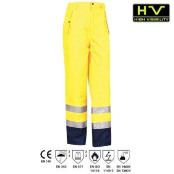 Pantalon Hi-Viz Bourgogne 350021