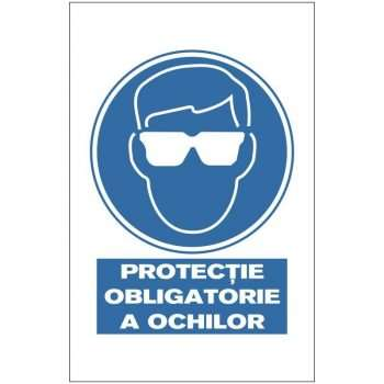 Indicator de obligativitate:Protectie obligatorie a ochilor