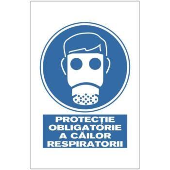 Indicator de obligativitate: PROTECTIE OBLIGATORIE A CAILOR RESPIRATORII