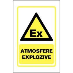 Indicator de avertizare: ATMOSFERE EXPLOZIVE