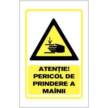 Indicator de avertizare:Atentie! Pericol de prindere a mainii