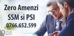 Zero amenzi SSM si PSI
