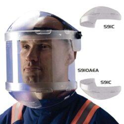 ARC PRO+ Viziera protectie arc electric cu prindere pe cap