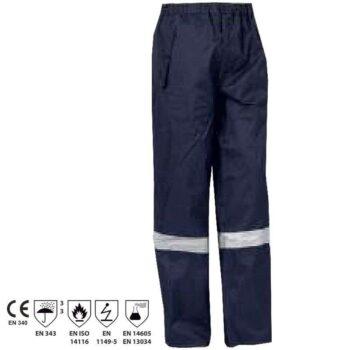 BORDEAUX Pantaloni multinorma