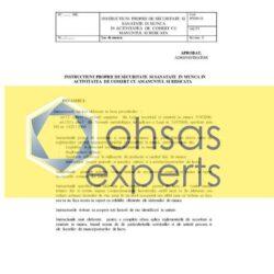 IPSSM pentru activitatea de comert cu amanuntul si ridicata