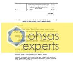 IPSSM pentru activitati de medicina fizica si recuperare