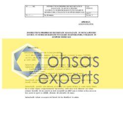 IPSSM pentru lucru cu surse de radiatii nucleare utilizate in scopuri medicale