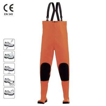 TRENT Pantaloni cu pieptar si cizme S5 incorporate