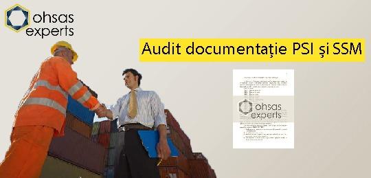 Audit doc SSM si PSI - OHSAS Experts